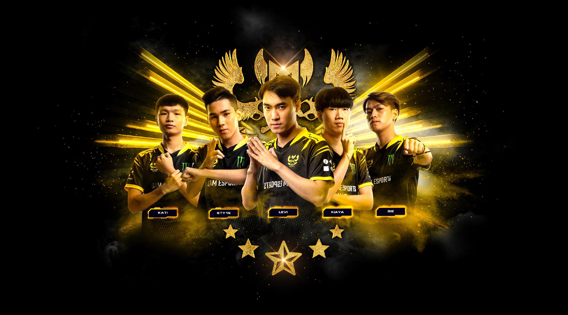 Gam esports team